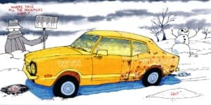 How to protect your car or truck from rusting during the winter